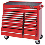 Proto RED 15 DRAWER WORKSTATION 41X42
