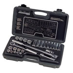"Blackhawk By Proto® Socket Set 26 Piece 1/2"" Drive 6 Point Standard Deep SAE"