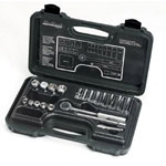 "Blackhawk™ By Proto® 20-Piece Mechanic's Tool Set, SAE, 3/8""-Drive, Deep/Standard, 12-Point"