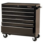 "Blackhawk By Proto® Cabinet 41"" 6 Drawer, Black"