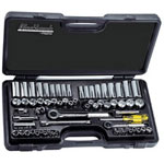 "Blackhawk™ By Proto® 65 Piece Socket Set 1/4"" & 3/8"" Drive"
