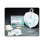 Bard Infection Control Foley Tray with Bag, with O Catheter