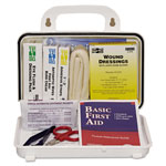 Pac-Kit 10 Person Plastic First-aid Kit w/Eyewash