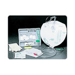Bard Cath Insert Tray with 16 Fr 5 cc 100% Silicone Catheter, Bag