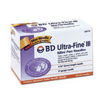 Becton Dickinson Ultra-Fine III 31G x 3/16 Mini Pen Needle, 100 Ca