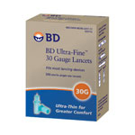 Becton Dickinson Ultra Fine Lancets, 30 Gauge, 200