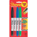 Sharpie® Twin Tip Colors4 Ct