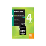 Fuji flash memory card 4 GB microSDHC