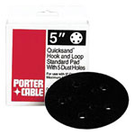 "Porter Cable 5"" Quicksand 5-hole Standard.hook & Loop Pad for 333"