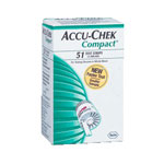 Roche Accu-Chek Compact 3 Test Drums (51 Tests)