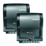 enMotion 59462 Wall Mount Automated Touchless Towel Dispenser, Translucent Smoke,2 Pack
