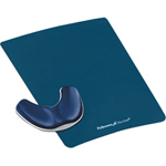 Fellowes Gliding Palm Support Mouse Pad With Wrist Pillow