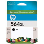 HP 564XL Black Ink Cartridge ,Model CB321WN140 ,Page Yield 800