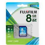 Fuji Standard Performance Flash Memory Card 8 GB SDHC