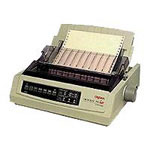 Okidata Microline 390 Turbo - Printer - B/W - Dot-matrix