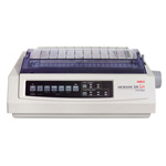 Okidata Microline 320 Turbo - Printer - B/W - Dot-matrix - Letter - 240 DPI x 216 DPI - 9 Pin - Up To 435 Char/sec - Parallel, Serial, USB