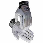Caiman M.A.G. Gray Deerskin Mechanics Gloves, American Deerskin, Large, Gray/Black