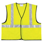 River City Class II Economy Safety Vest, Solid, Lime