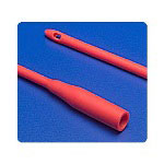 Sherwood Medical Red Rubber Robinson Catheter, 16 Fr