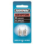Rayovac 37614 Krypton Bulb For2 D Cell Flashl