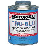 Rectorseal Tru-blu 1qt. Btc Pipe Thread