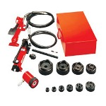 "Gardner Bender Hydraulic Knockout Set 1/2""-2"" w/Foot Pump"