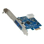 Belkin SuperSpeed USB 3.0 PCI Express Card - USB Adapter - 2 Ports