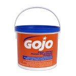 Gojo FAST TOWELS Hand Cleaning Towels, 9 x 10, White, 225/Bucket, 2 Buckets/Carton