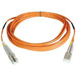 Tripp Lite Patch Cable - LC Multi-mode (M) - LC Multi-mode (M) - 3.3' - Fiber Optic - 62.5 / 125 Micron - Orange