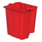 Rubbermaid Red 18 Qt Capacity Dirtywater Bucket