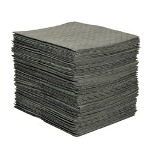"Spc 16"" x 20"" PerForated Oil Sorbent Pad 100 Pads/bale"