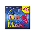 Sony MCR 156A Mini CD-R - 5