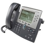 Cisco Cisco Unified IP Phone 7962G VoIP Phone - SCCP, SIP - Silver, Dark Gray