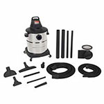 Shop Vac 10 Gallon Industrial Single-Stage Wet/Dry Vacuum w/ Accessories, 7 Foot Hose, 9 A