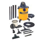 Shop Vac 10 Gallon Steel w/Dual Accessories Ind. Econom