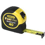 "Stanley Bostitch 1-1/4"" x 40' Fatmax Tape Rule w/Bladearmor Coating"