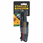 Stanley Bostitch FatMax Safety Knives, 3.3 in, Retractable Steel Blade