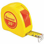 L.S. Starrett Pocket Tapes Measuring Tapes, 1 in x 25 ft