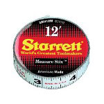 "L.S. Starrett Sm46wrl 1/2"" x 6' Measurestix"