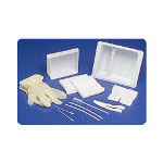 Kendall Tracheostomy Care Tray With Latex-Free Gloves