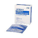 "Kendall Curity Non-Adhesive Dressing, 3"" x 3"", 50 per Box"