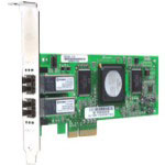 Qlogic QLE2462 - Network Adapter - PCI Express X4 Low Profile - 4Gb Fibre Channel - 2 Ports