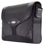 Mobile Edge MEMS01 Select Messenger Bag - Notebook Carrying Case - Black, Charcoal
