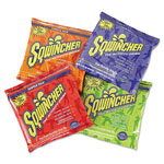 Sqwincher Powder Drink Mix, Variety Pack, Yields 2-1/2 Gallons, Case of 32