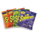 Sqwincher Powder Pack Concentrated Activity Drink, Fruit Punch, 47.66 oz Packet, 16/Carton