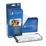 "Epson PictureMate Print Pack - Print Cartridge / Paper Kit - 1 x Blue, Yellow, Cyan, Magenta, Red, Photo Black - 4"" x 6 In"