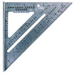 Swanson Tools DIE CAST ALUMINUM SPEEDSQUARE W/BLACK GRA