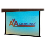 Draper Access/Series V AV Format - Projection Screen (motorized)