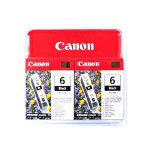 Canon BCI 6 Black Twin Pack - ink Tank