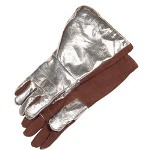 "Stanco 17"" Aluminized Back Andbrown Thermoleather Glov"
